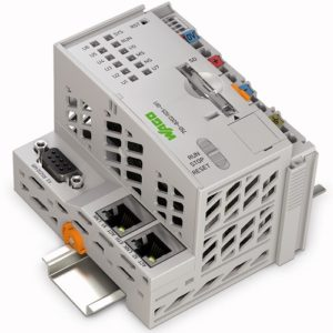 Wago-750-8202 Controller PFC200; 2 x ETHERNET, RS-232/-485; Telecontrol; Ext. Temperature
